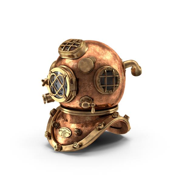 Diving Helmet Object