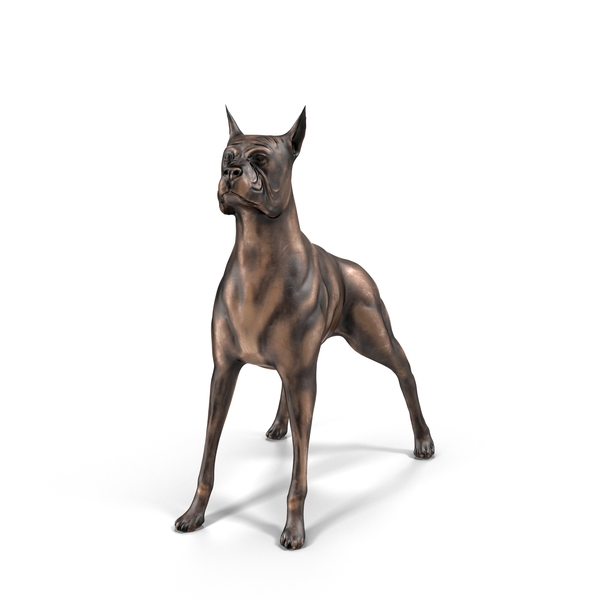 Dog Statue Object