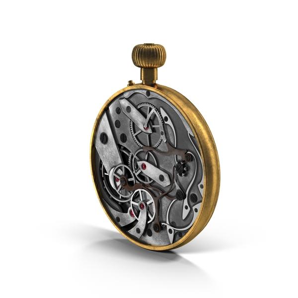 Clock Mechanism Object