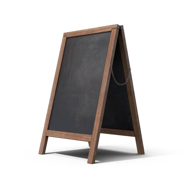 Sandwich Board Object