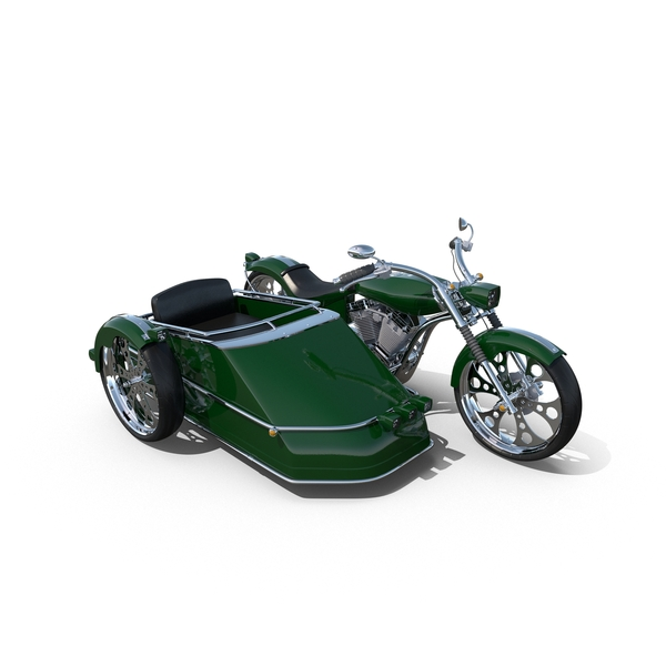 Chopper with Sidecar Object