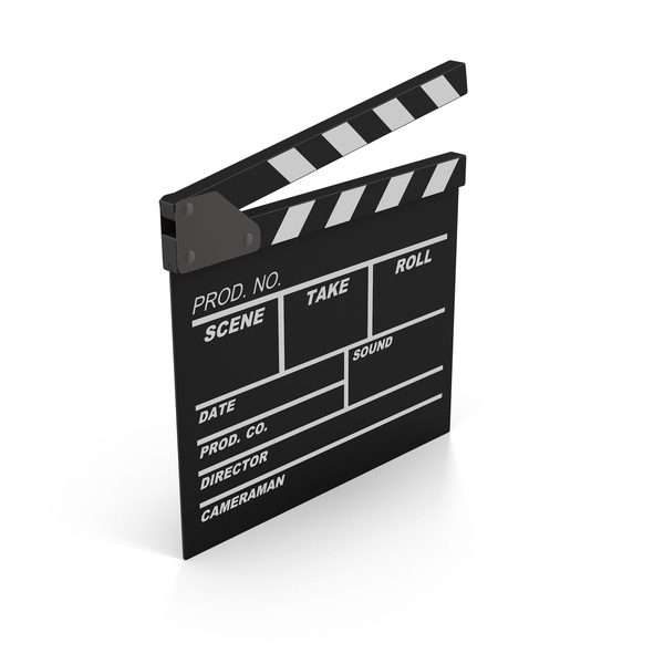 Film Clapboard Object