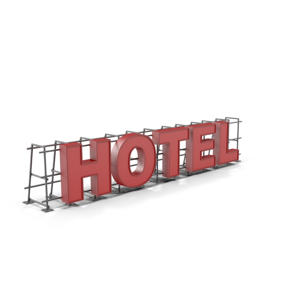 Hotel Sign Object