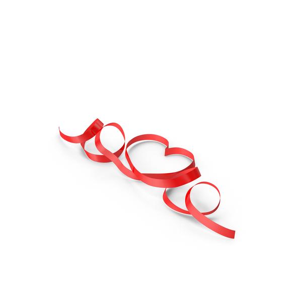 Ribbon Hearts Loops Object