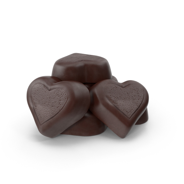 Chocolate Candy Hearts  Object