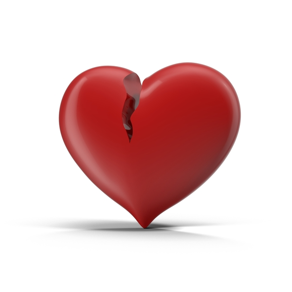 Broken Heart Object