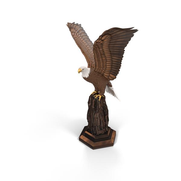 Eagle Sculpture Object