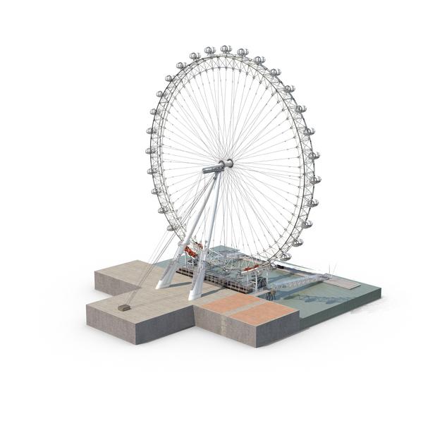 London Eye Object