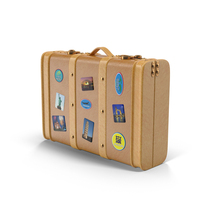 Travel Suitcase Object