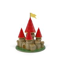 Cartoon Castle Object