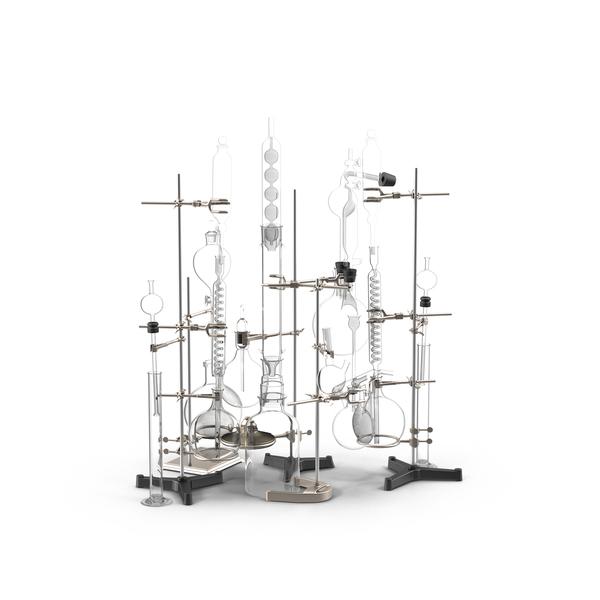 Laboratory Chemistry Set  Object