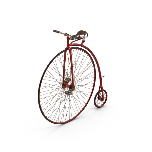 Penny Farthing Bicycle Object