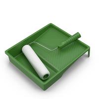 Paint Roller Kit Object