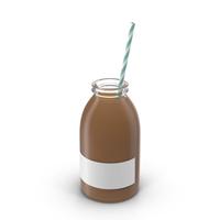 Chocolate Milk Bottle Object