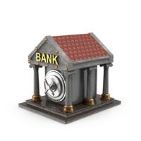 Cartoon Bank Object