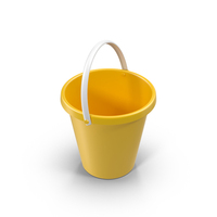 Yellow Bucket Object