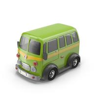 Cartoon Minibus Object