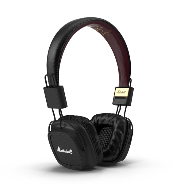 Black Marshall Headphones Object