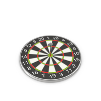 Dartboard with Darts Object