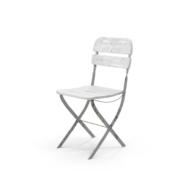 Vintage Folding Chair Object