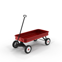 Red Wagon Object