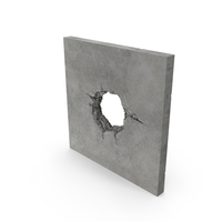 Structural Impact in Concrete (Cannonball) Object