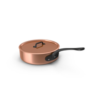 Copper Saucepan Object
