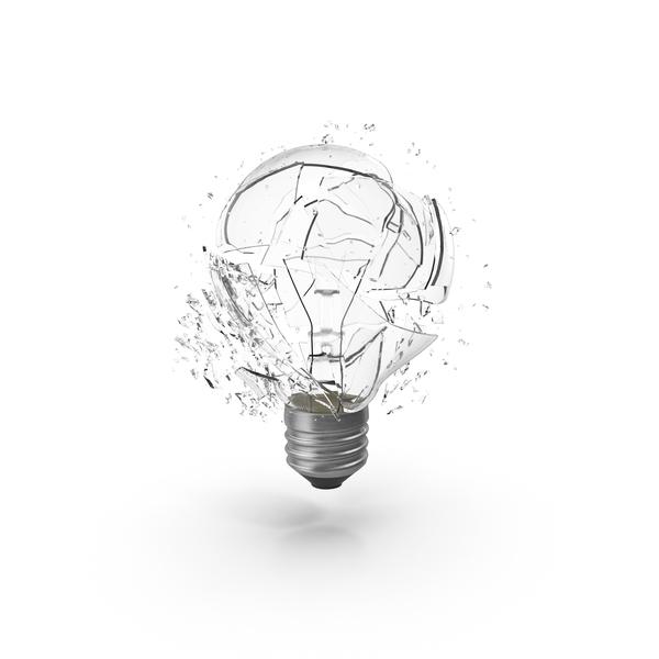 Shattered Light Bulb Object
