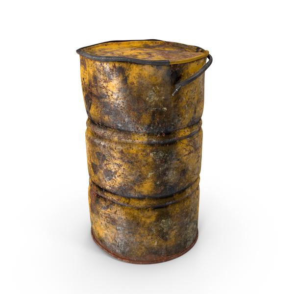 Destroyed Radioactive Barrel Object
