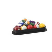Racked Balls Object