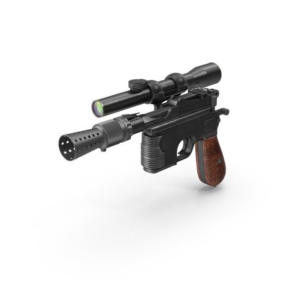 Han Solo Blaster Object