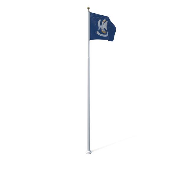 Louisiana State Flag Object