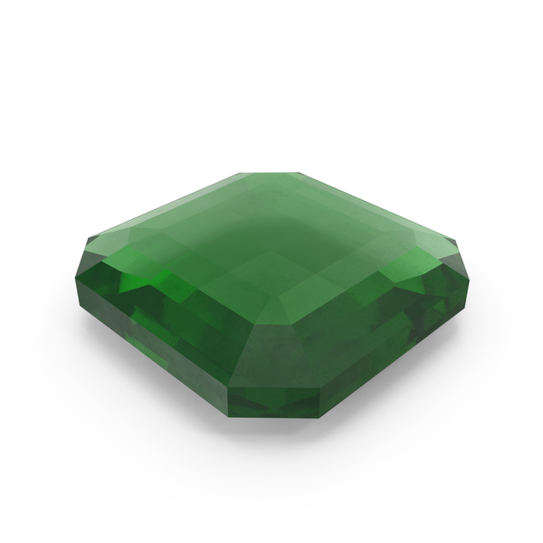 Square Emerald Object