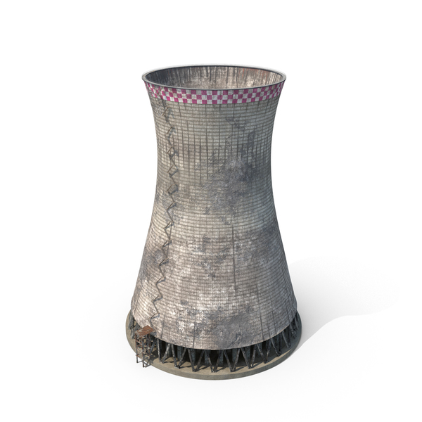 Destroyed Nuclear Cooling Tower Object