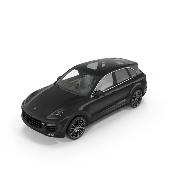 Porsche Cayenne Turbo S 2015 Object