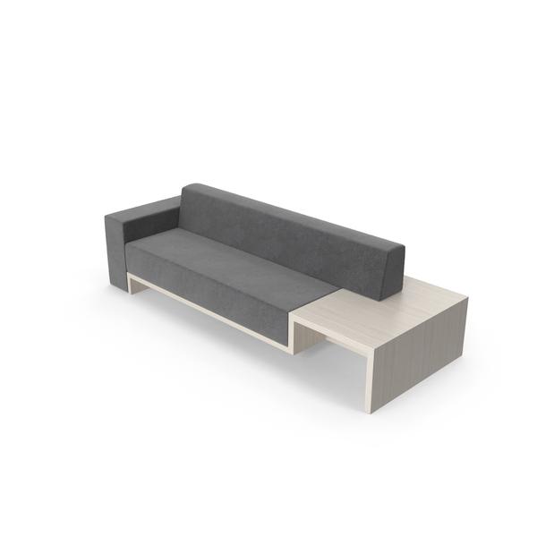 Blocky Sofa Object