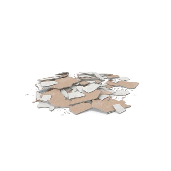 Broken Sheetrock Object