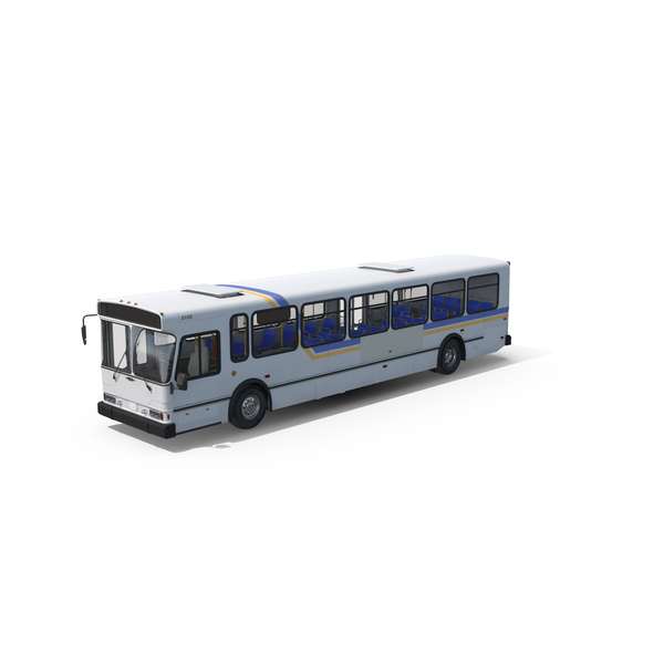 Orion V Transit Bus Liberty Lines Object