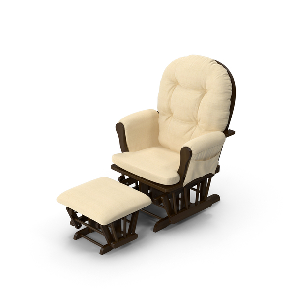 Padded Rocking Chair Object
