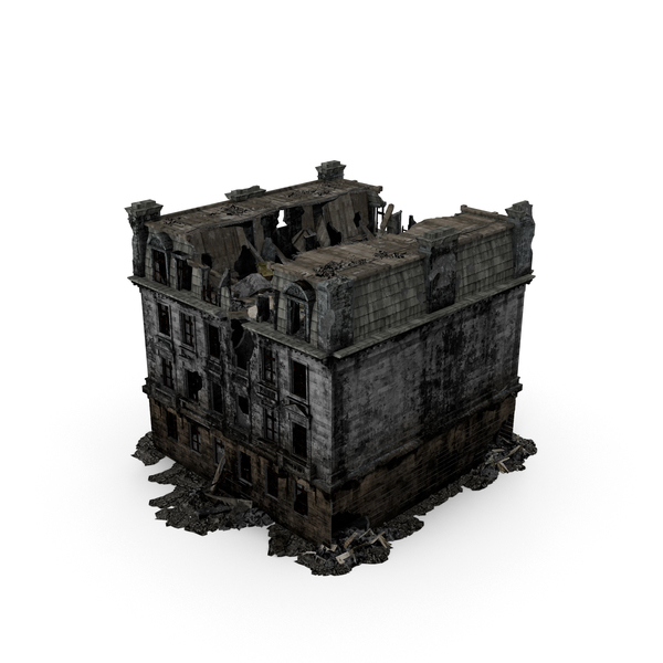 Ruined Building Object