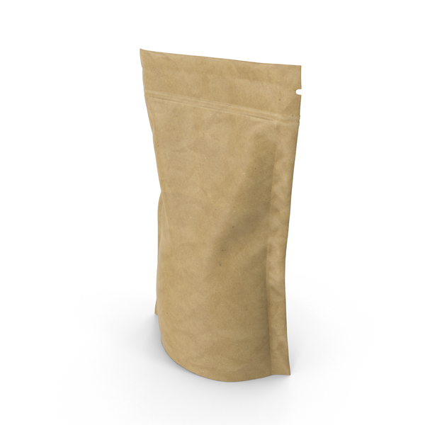 Brown Paper Vacuum Sealed  Bag Object