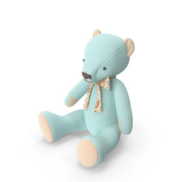 Blue Teddy Bear Object