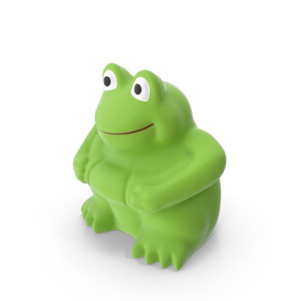 Frog Bath Toy Object