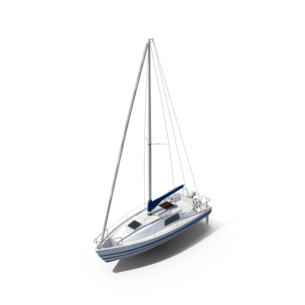 Small Sailing Yacht Object