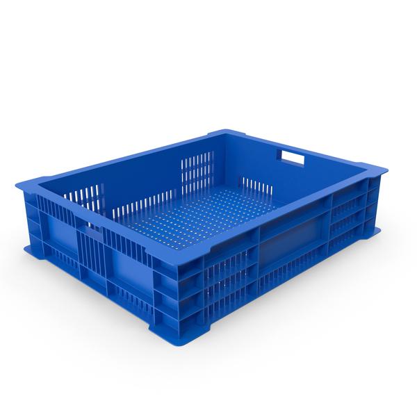 Plastic Fish Crate Object