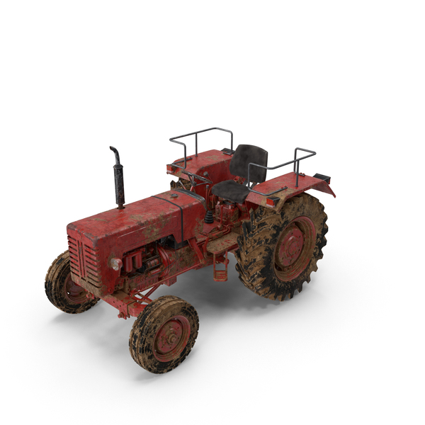 Dirty Tractor Mahindra 395 DI Object