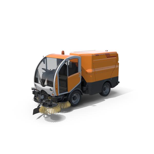 Bucher Citycat 2020 Compact Street Sweeper Object