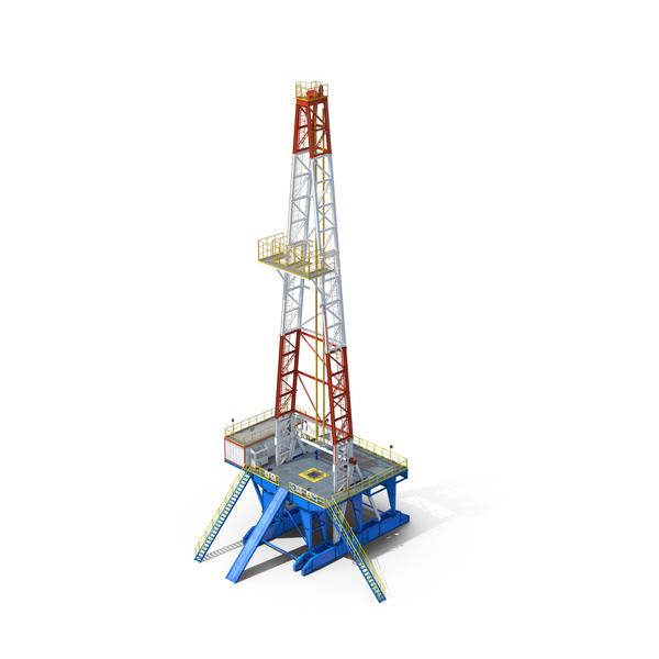 Fracking Gas Platform Object