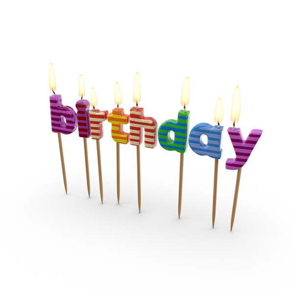 Birthday Candles Object