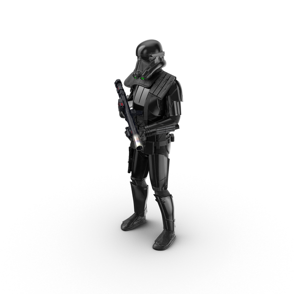 Imperial Death Trooper Standing Pose Object